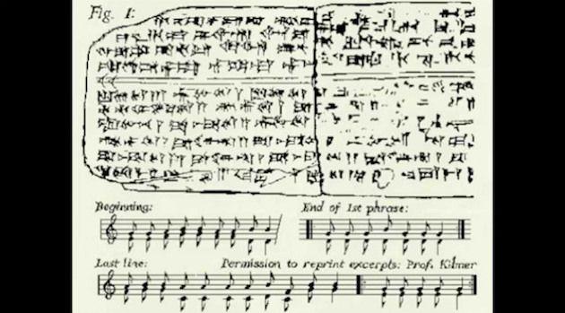 Komposisi Musik Tertua di Dunia